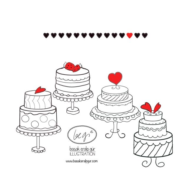 bütün pastalar