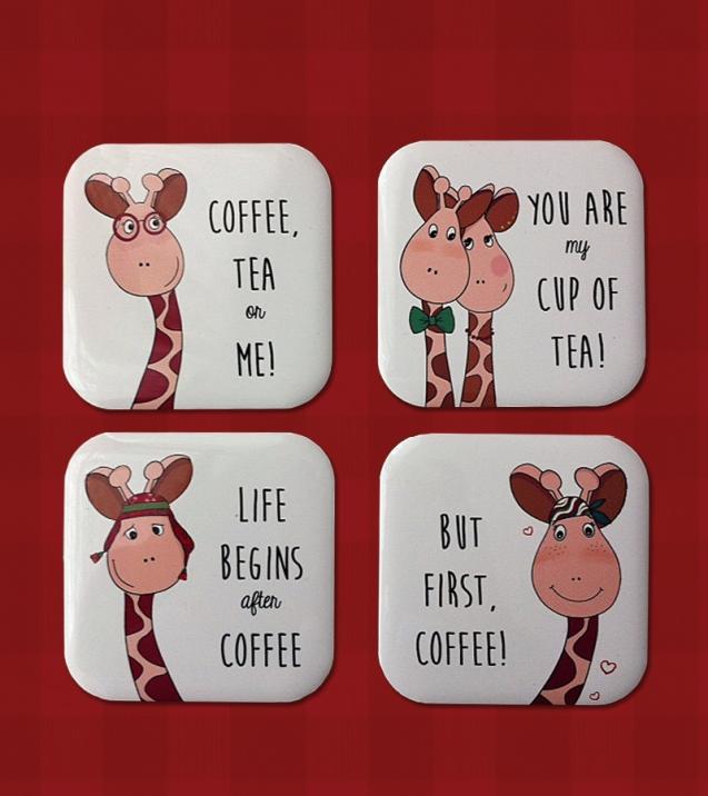 kahve ve zürafa